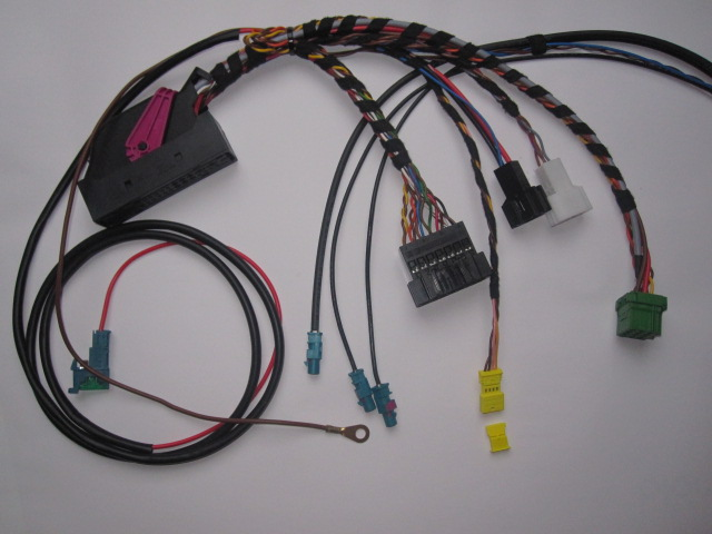 on w211 headlight wiring harness